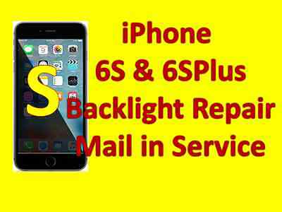 Apple iPhone 6S Backlight and Dim Light Repair Micro Soldering Mail in Service