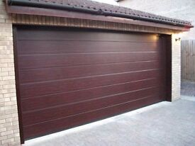 garage doors insulated sectional 40mm for air-tightness