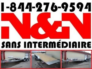 2019 N&N PLATEFORME HYDRAULIQUE TILT 7 X 18 7X18 10000 LIVRES