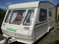 4 berth caravan ideal family starter