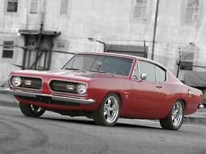 1967-1969 Plymouth Barracuda Project