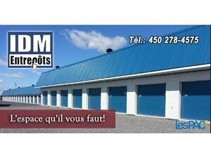 Mini-entrepôts à Saint-Pie, route 235 face à Sanair