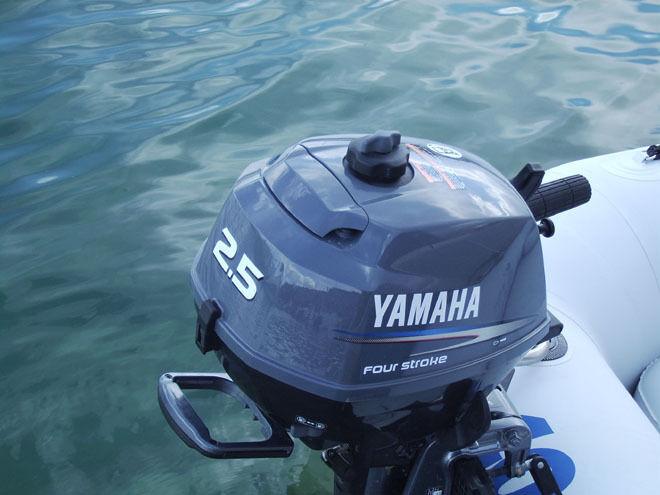характеристики лодочного мотора ямаха 2.5 силы