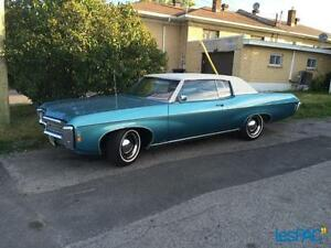 1969 Impala Custom Coupe 100% Match Number avec built sheet