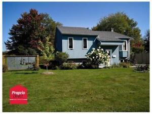 Maison à vendre situé Daveluyville