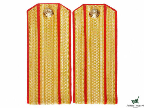 STAFF OFFICERS DAILY SHOULDER BOARDS, IMPERIAL RUSSIA WWI, REPLICA