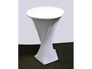 Location couvre table bistro en spandex (lycra)