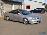 *WOW* HONDA ACCORD COUPE, FULL EQUIPE, A/C, TOIT OUVRANT, PROPRE
