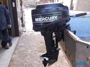 Mercury 15hp moteur bateau hors bord