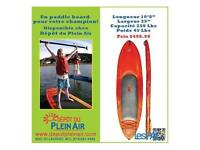 NEUF! Planches à pagaie,kayak,NEW! Stand up paddle board,sup,