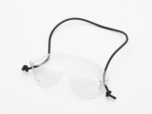 Tandem passenger skydiving goggles (clear, OTG size)