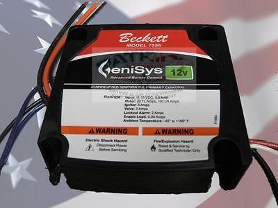 Beckett 7556a0000u Genisys 7556a 12vdc Oil Burner Control 15 Second Lockout 12v