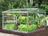 4x4ft Cold Frame / Mini Greenhouse (Access Garden) — Toughened safety glass