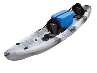 New Winner Nereus II Kayak + 2 free paddles