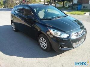 2012 Hyundai Accent GL , MANUELLE , 60 300 KM , 6900 $