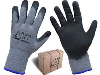 24 pairs high quality, Latex coated Gloves for Gardening, mechanix, industrial, home, safety,