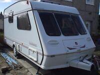 dry two berth caravan