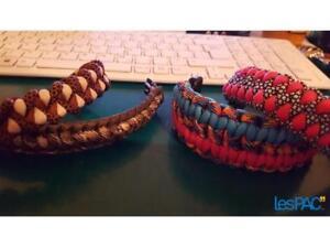 bracelets faits a la main a vendre (pqt/4) 10$