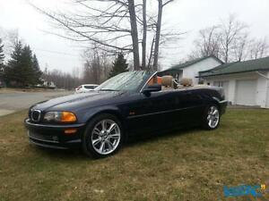 BMWconvertible1serieM 2001 3,0L/ext marine/int cuir beige