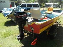 12FT BROOKER AND 15HP MERCURY TRAILER ALL REGO'S Wooli Clarence Valley Preview