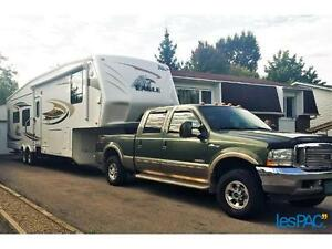 Fifth Wheel 3 Extensions avec Ford F-250 KingRanch