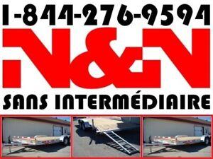 2019 N&N PLATEFORME 7 X 16 CAR HAULER 82 X 16 7000LIVRES 7X16