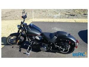 Harley Softail Blackline 2013 avec 2000km.