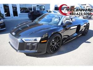 Audi R8 V10 2017 Spyder V10 BLACK ON BLACK !