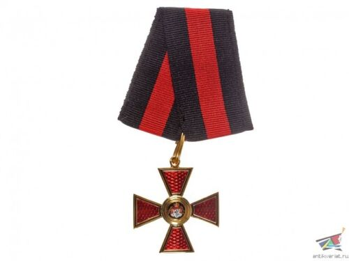 Cross of Order Of Saint Vladimir 4 Class Without Swords, Russin Imperial WWI