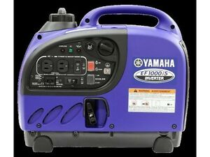 2015 Yamaha EF1000iS