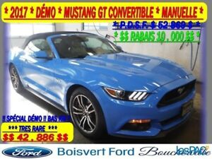 2017 Ford Mustang GT Premium CONVERTIBLE CUIR