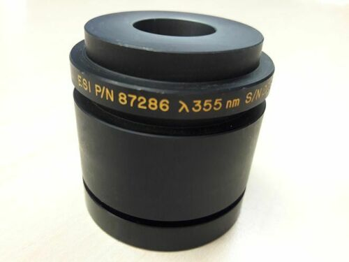 "ESI 87286 Scan Lens UV 355nm 2""x2"" mfg by Melles Griot  -Free Shipping"