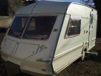 luxury two berth dry warm caravan
