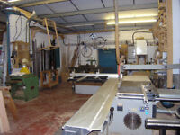Shared woodworking workshop space available