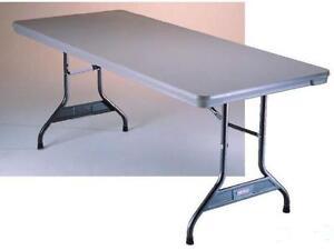 Table pliante en plastique 8 pieds (96 pouces)