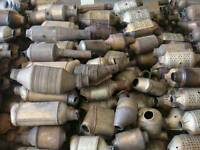 Catalytic converters and DPF filters