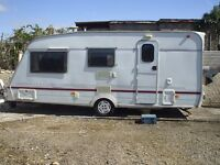 spacious starter 4/5 berth caravan