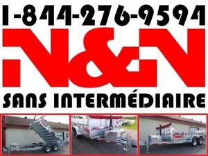 2020 N&N DUMPEUR 6 X 12 HD DOMPEUR 6X12 10000LBS (SANS INSP.)