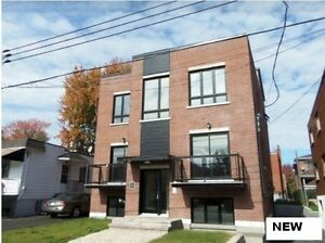 New condo 5 1/2 for rent/a louer