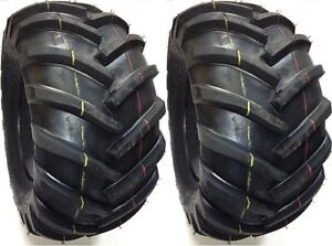 (2) 26X12-12 DURO SUPER LUG R1 4 PLY TIRES 26 12 12 TWO TIRE PAIR DITCH TRENCHER