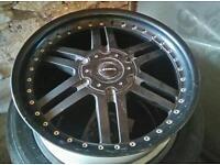 Nissan nevara lenso alloy wheels and good tyres