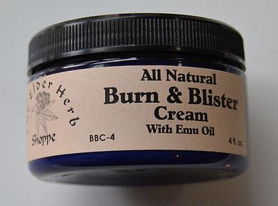 The Elder Herb Shoppe Burn Cream w/ Aloe & Emu Oil - 4 oz. First Aid Blisters