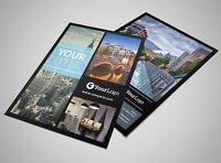 Printing Flyers, Postcard, Business cards, Menus, Booklets, Bags