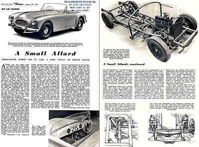 Allard 1952 (3 Seater Sports Car) - The Autocar August 29,1952 - A Small Allard