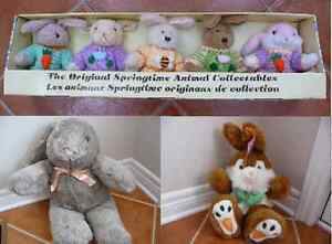 Variety of Brand New Plush Easter Bunnies & Critters London Ontario image 1