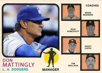 DON MATTINGLY DODGER ALL STARS ACEO ART CARD ## BUY 5 GET 1 FREE # or 30% OFF 12