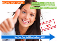 SECOND MORTGAGES & PRIVATE LENDING UP TO 90% LTV - QUICK CLOSE
