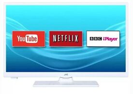 """24"""" JCV SMART LED TV WITH WIFI AND FREEVIEW HD"""