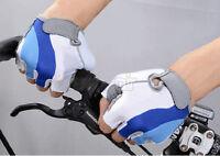 Gants de vélo Super agrippants Tricolore Bleu/Blanc/Gris VVV