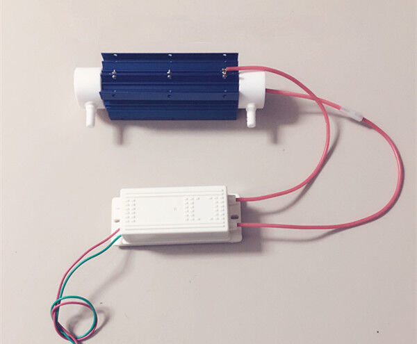 7G Water Treatment Ozone Generator Quartz Tube Air Purifier With Power Supply US